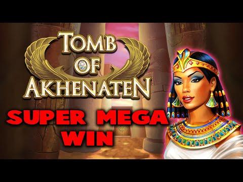 TOMB OF AKHENATEN - 10,000X+ WIN