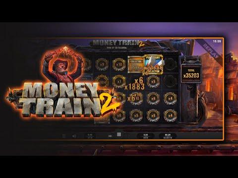 MONEY TRAIN 2 - 2nd 50,000X MAX WIN!