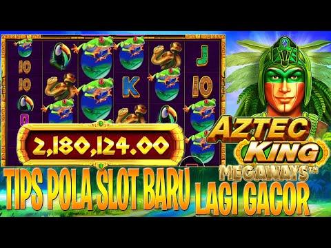 100K JADI 2JTA!! TIPS DAN TRIK AZTEC KING MEGAWAYS SLOT PRAGMATIC PLAY 2021