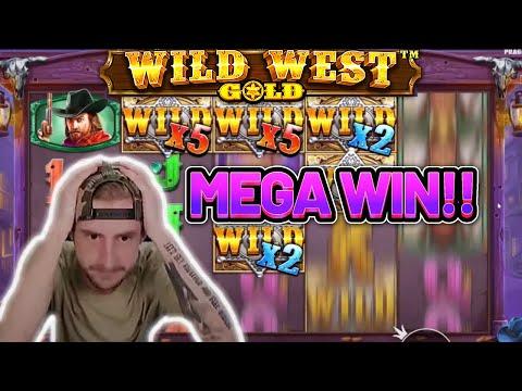 MEGA WIN! WILD WEST GOLD BIG WIN - Casino game from Casinodaddy LIVE STREAM