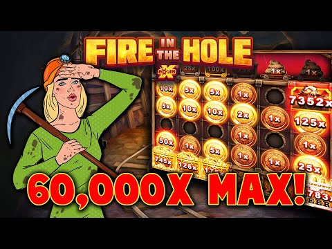 FIRE IN THE HOLE xBOMB 🔥 60,000x MAX WIN 🔥