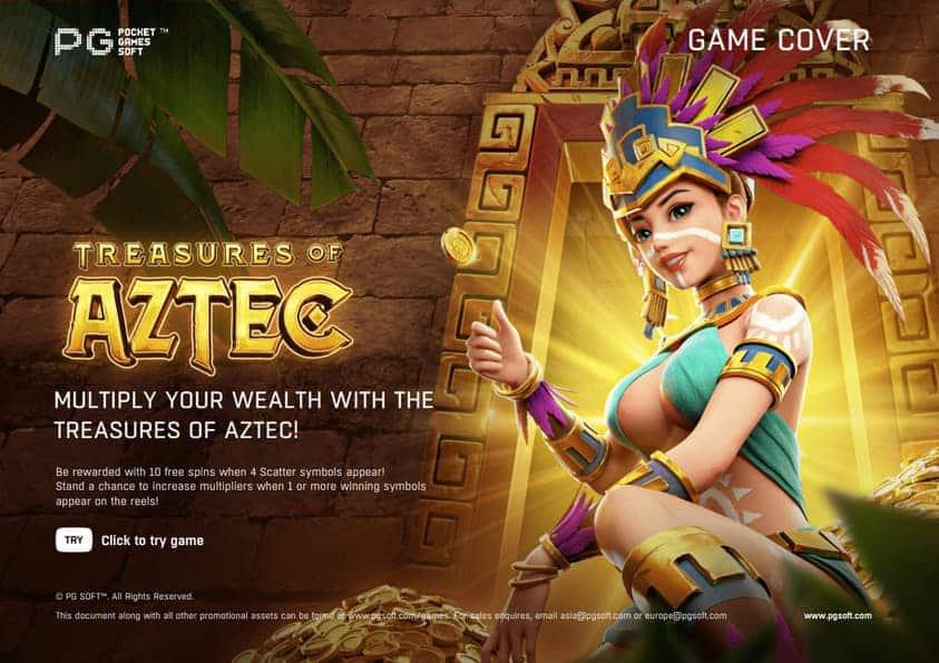 Treasures Of Aztec cover